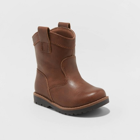 Toddler Boys' Hunter Fashion Boots - Cat & Jack™ Brown - image 1 of 3