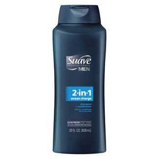 Suave Professional For Men 2-in-1 Hair and Body Wash- Ocean Charge