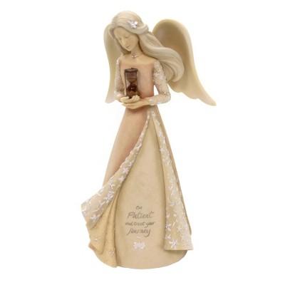 "Foundations 7.5"" Angel Of Patience Hour Glass Inspiring Spiritual  -  Decorative Figurines"