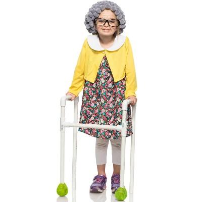 Seeing Red Grannie Child Costume