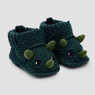 Baby Boys' Knitted Bino Booties - Just One You® made by carter's Newborn