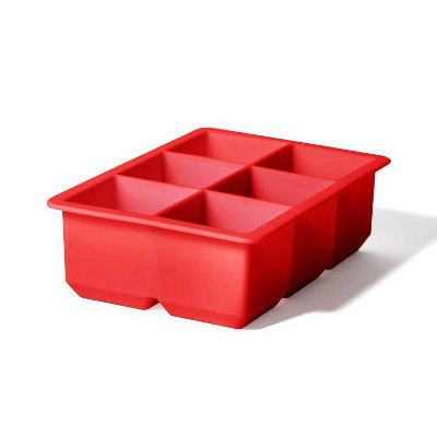 Houdini Silicone Ice Tray Red