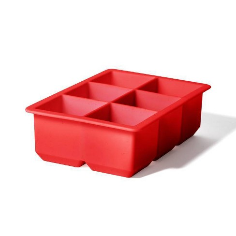 Houdini Silicone Ice Tray Red - image 1 of 3