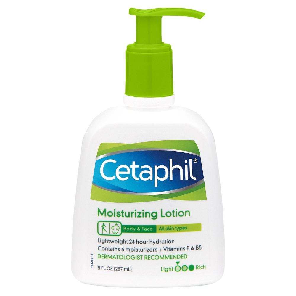 Cetaphil Moisturizing Body And Face Lotion 8 Fl Oz