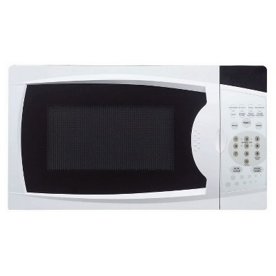 Magic Chef MCM770W 700 Watt 0.7 Cubic Feet Microwave with Digital Touch Controls, White