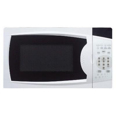 Magic Chef MCM770W 700 Watt 0.7 Cubic Feet Microwave with Digital Touch Controls, White