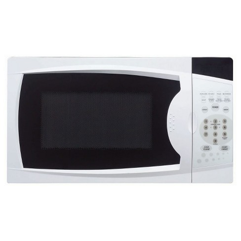 Magic Chef MCM770W 700 Watt 0.7 Cubic Feet Microwave with Digital Touch Controls, White - image 1 of 2