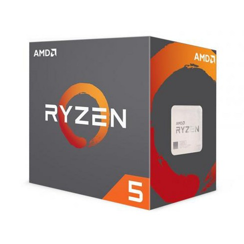 AMD Ryzen 5 1600X Processor - 6 cores & 12 threads - Unlocked for Overclocking - 4.0 GHz max boost speed - Socket AM4 - 16MB L3 Cache - image 1 of 2