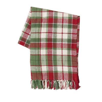 "C&F Home Owen Plaid 50"" x 60"" Throw Blanket"