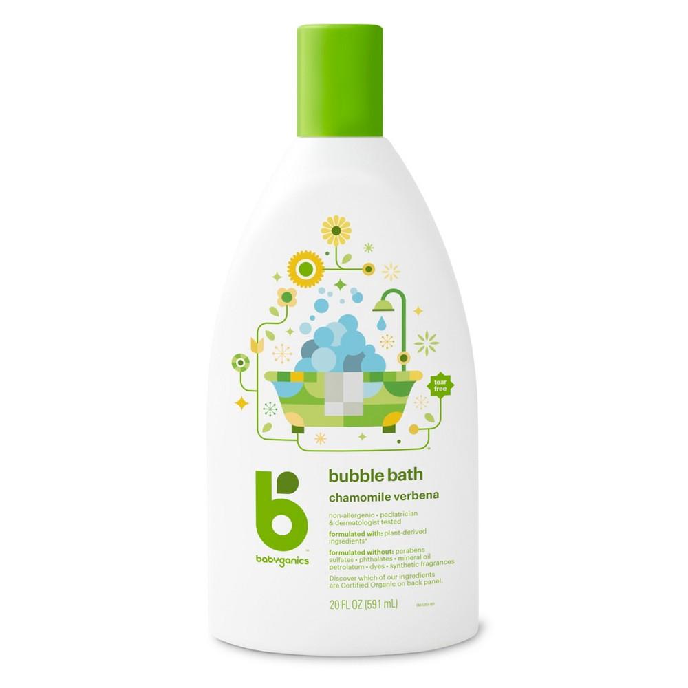 Babyganics Baby Bubble Bath, Chamomile Verbena - 20oz Bottle