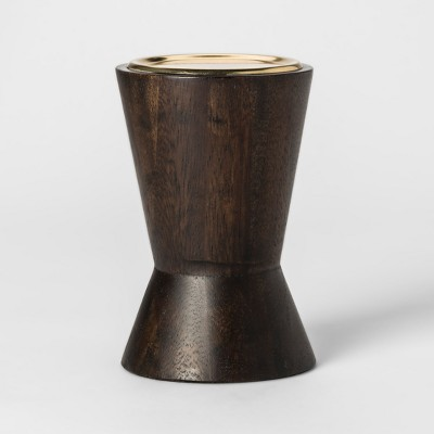 Candle Holder Dark Brown Small - Project 62™