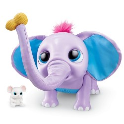 Wildluvs - Juno Interactive Baby Elephant with Moving Trunk