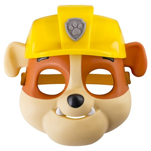 Paw Patrol - Pup Mask - Rubble - image 1 of 3