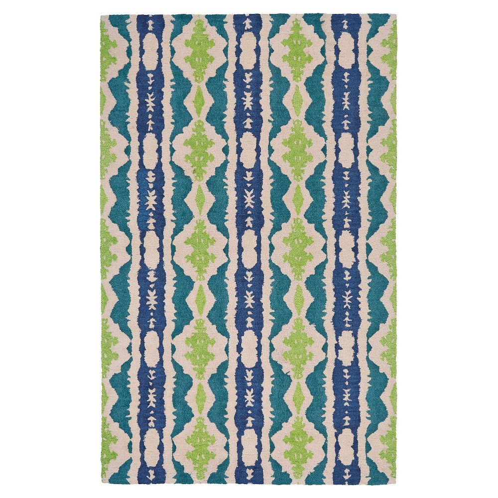 Reef Abstract Tufted Area Rug - (12'X15') - Room Envy