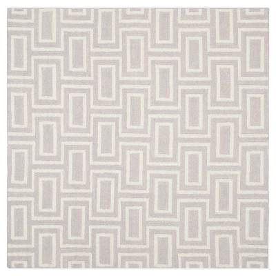 Montauk Flat Weave Geometric Wool Area Rug - Safavieh