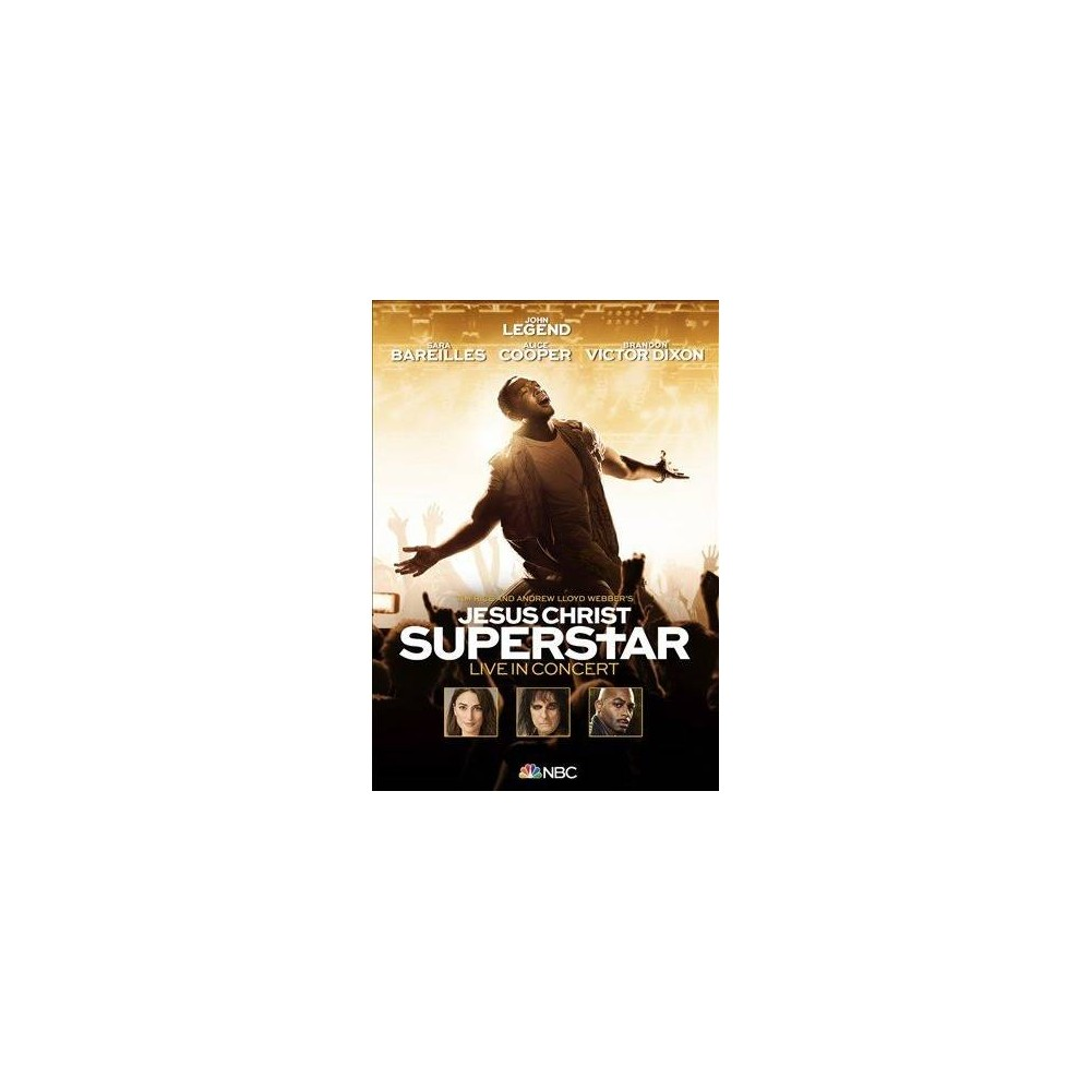 Jesus Christ Superstar Live (Ost) (Dvd)