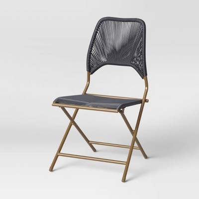 Fisher Folding Patio Chair - Navy - Project 62™