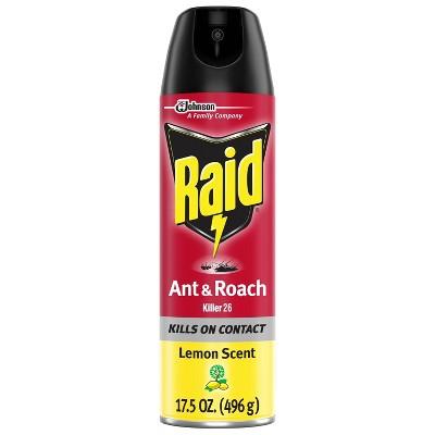 Raid Ant & Roach Killer 26 - Lemon Scent - 17.5oz
