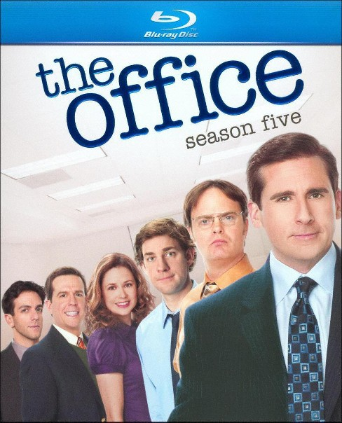 The Office: Season Five (4 Discs) (Blu-ray) - image 1 of 1