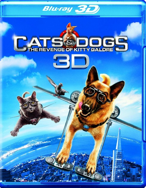 Cats & Dogs:Revenge/Kitty Galore 3d (Blu-ray) - image 1 of 1