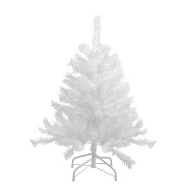 Northlight 3' Unlit Artificial Christmas Tree Full Frosted Spruce