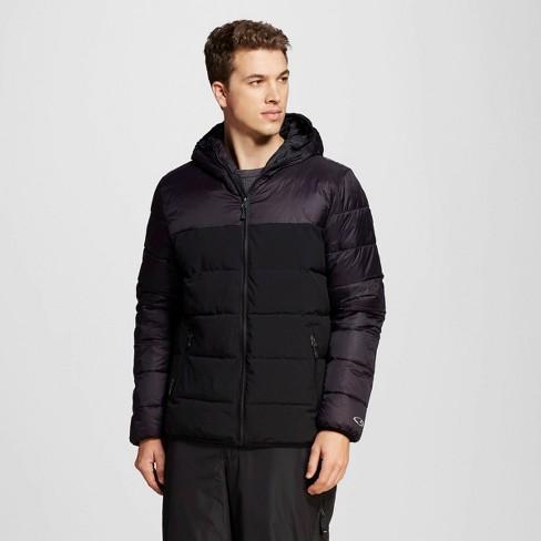 Men's Puffer Jacket Black L - C9 Champion® - image 1 of 1
