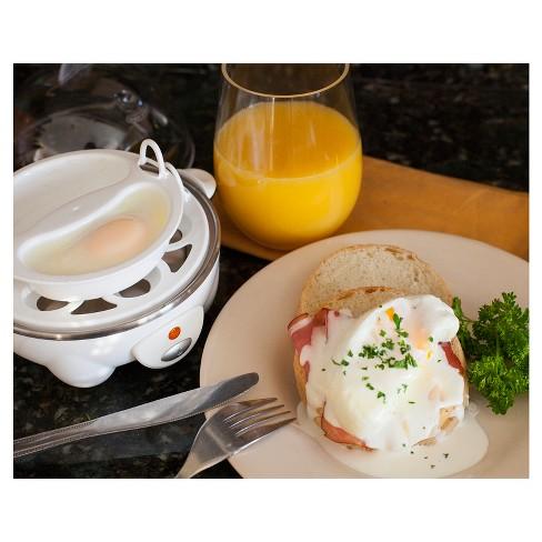 Cuisine Elite | Elite Cuisine Automatic Easy Egg Cooker Egc 007 Target