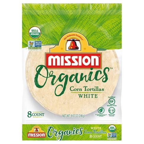 Mission Organic Gluten Free White Corn Tortillas - 8.67oz/8ct - image 1 of 4
