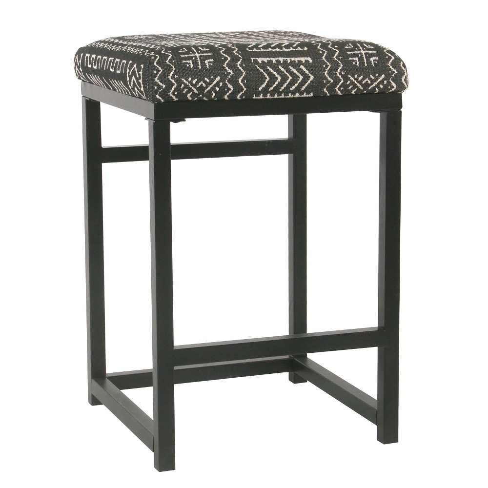 Open Back Counter Stool Onyx - Homepop was $84.99 now $63.74 (25.0% off)