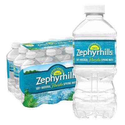 Zephyrhills Brand 100% Natural Spring Water - 12pk/12 fl oz Bottles