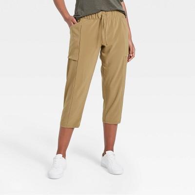 Women's Stretch Woven Tapered Capri Leggings - All in Motion™