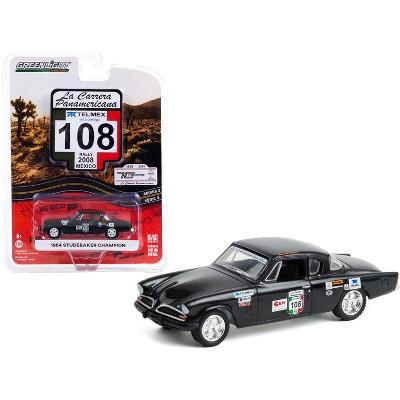 "1954 Studebaker Champion #108 ""GRW Racing Wear"" (Rally Mexico 2008) ""La Carrera Panamericana"" Series 3 1/64 Diecast Model Car by Greenlight"