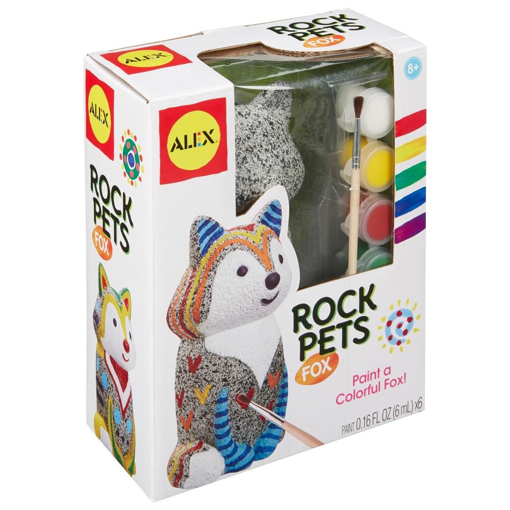 Image of Alex Craft Rock Pets Fox, craft activity kits