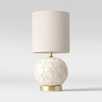 Medium Assembled Ceramic Table Lamp (Includes LED Light Bulb)White - Threshold™
