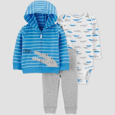 Baby Boys' North Alligator Top & Bottom Set - Just One You® made by carter's Blue 6M