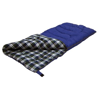 Stansport Prospector 5 LB Rectangular 20 Degree Sleeping Bag - Blue