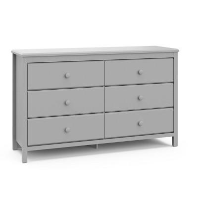 Storkcraft Alpine 6 Drawer Kids' Dresser - Pebble Gray
