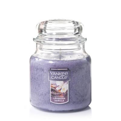 14.5oz Glass Jar Lavender Vanilla Candle - Yankee Candle
