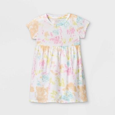 Grayson Mini Toddler Girls' Tie-Dye Short Sleeve Dress