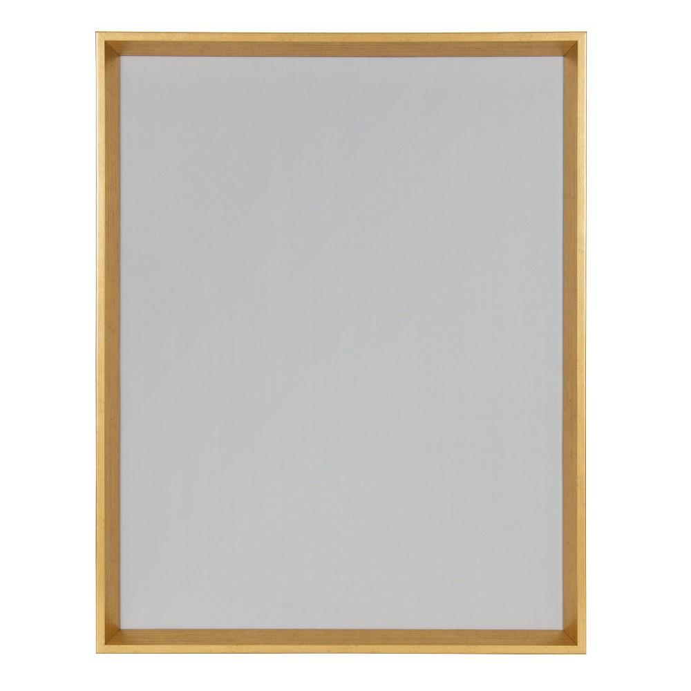 "Image of ""20"""" x 26"""" Calter Magnetic Canvas Board Gold - Kate and Laurel, Gray Gold"""
