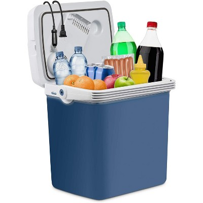 Ivation 25 Liter Portable Electric Cooler and Warmer - Great for Camping, Travel and Picnics