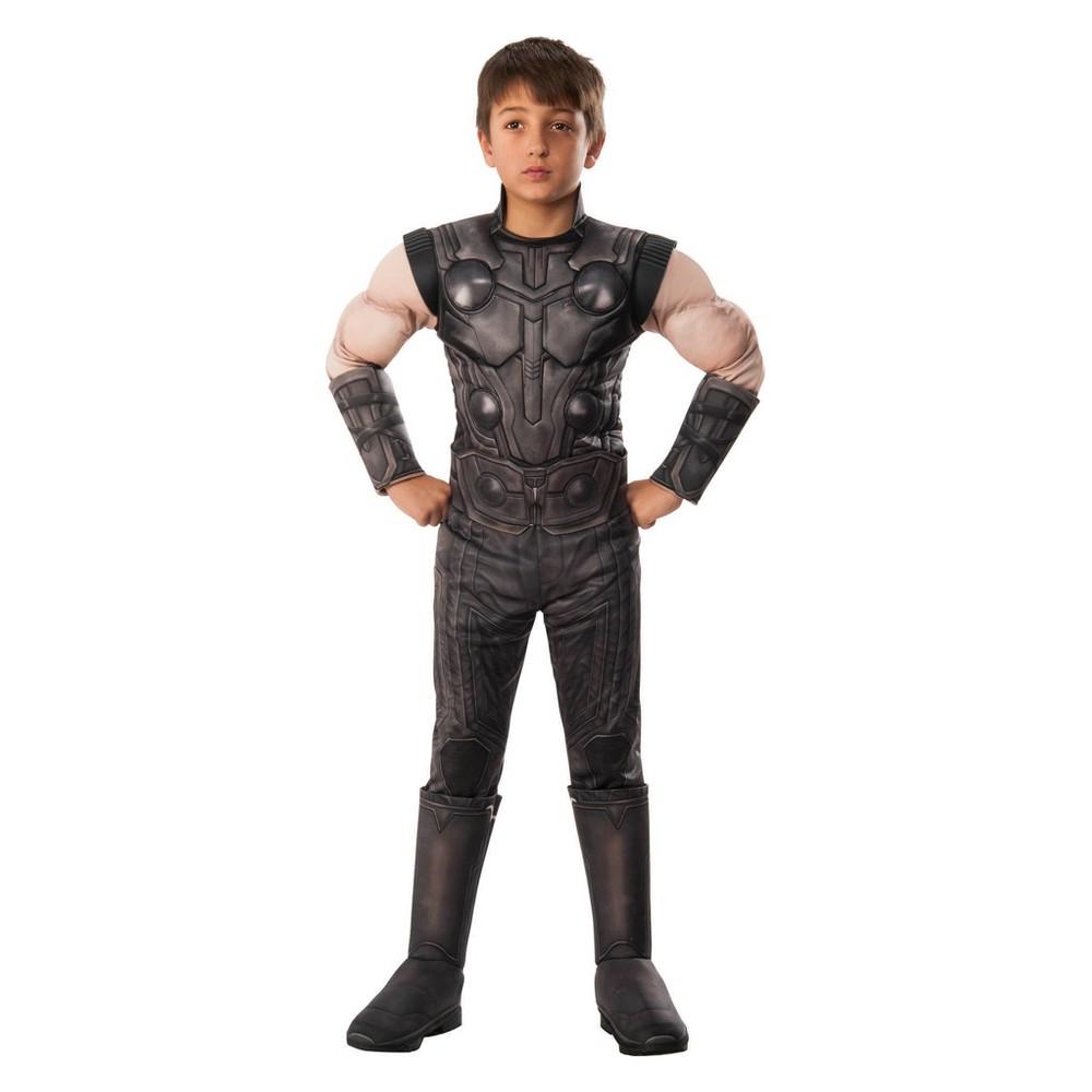 Boys' Marvel Avengers Infinity War Thor Halloween Costume L, Multicolored