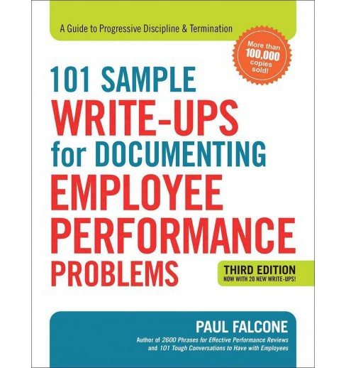101 Sample Write-Ups for Documenting Employee Performance Problems : A Guide to Progressive Discipline & - image 1 of 1