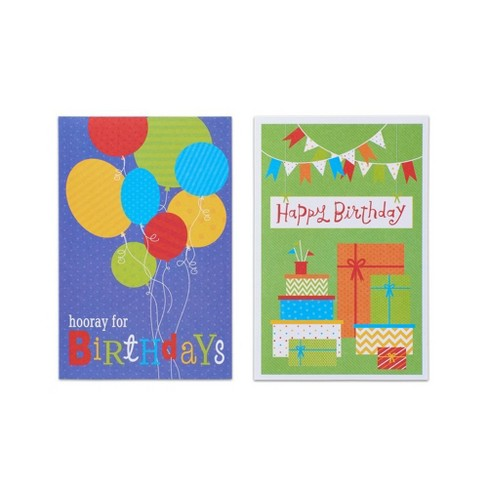 12ct Assorted Fun Happy Birthday Cards And Envelopes Target