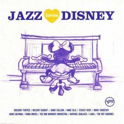 Various Artists - Jazz Loves Disney (CD)