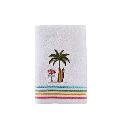 Paradise Beach Bath Towel White - Saturday Knight Ltd.