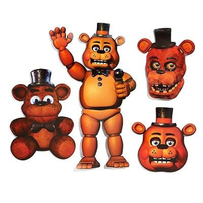 Forum Novelties Five Nights At Freddy's Freddy 4-Piece Cutouts