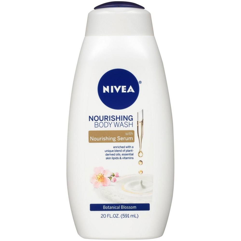 Image of NIVEA Nourishing Body Wash Botanical Blossom - 20 fl oz