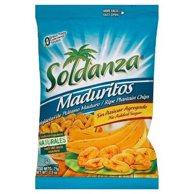 SOL Sweet Plantain Chips - 2.5oz