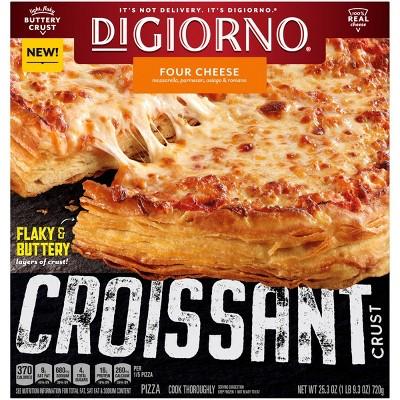 DiGiorno Croissant Crust Four Cheese Frozen Pizza - 25.3oz